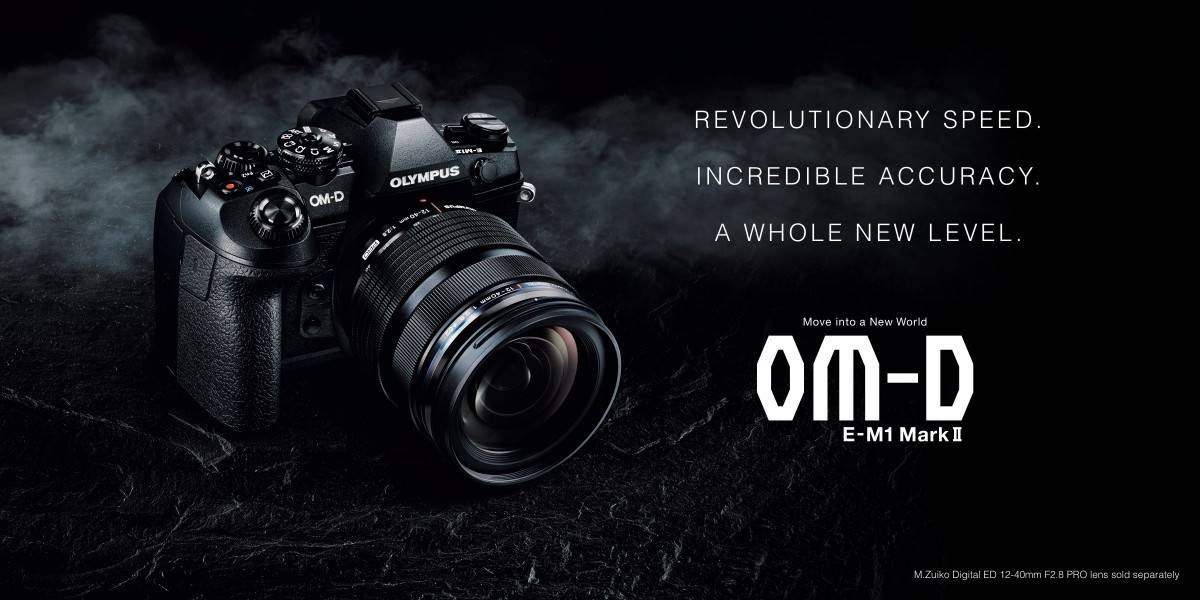 Olympus OM-D E-M1 Mark II Promo Photo