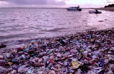 plastic after monsoon.