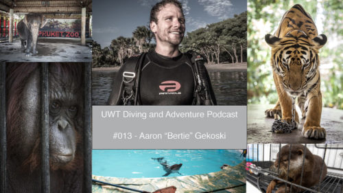 Aaron Gekoski Underwater Tribe Podcast