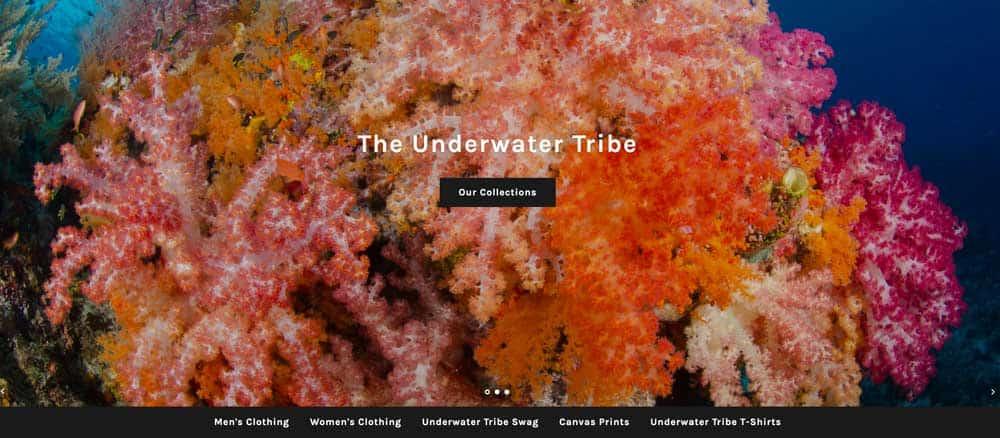 Underwater Tribe Store