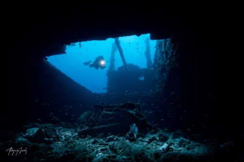 Scuba Diving Bali Kubu Wreck